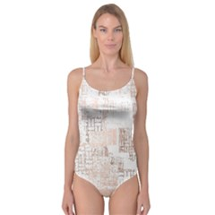 Abstract Art Camisole Leotard