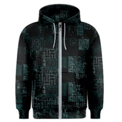 Abstract Art Men s Zipper Hoodie