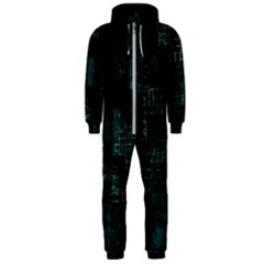 Abstract Art Hooded Jumpsuit (men)