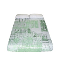 Abstract Art Fitted Sheet (full/ Double Size)