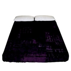 Abstract Art Fitted Sheet (california King Size)