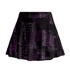 Abstract Art Mini Flare Skirt