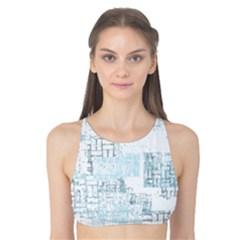 Abstract Art Tank Bikini Top