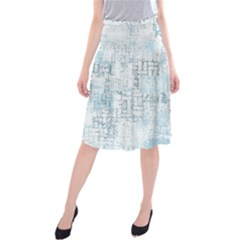 Abstract Art Midi Beach Skirt
