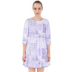 Abstract Art Smock Dress