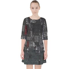 Abstract Art Pocket Dress