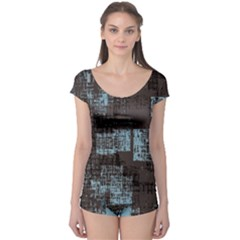 Abstract Art Boyleg Leotard