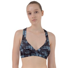 Abstract Art Sweetheart Sports Bra