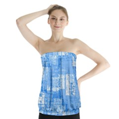 Abstract Art Strapless Top