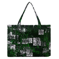 Abstract Art Zipper Medium Tote Bag