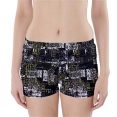 Abstract Art Boyleg Bikini Wrap Bottoms