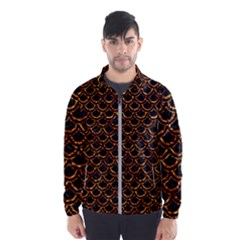 Scales2 Black Marble & Copper Foilscales2 Black Marble & Copper Foil Wind Breaker (men)