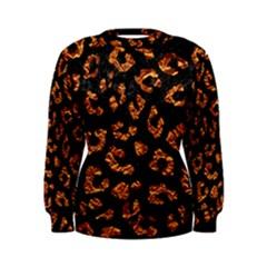 Skin5 Black Marble & Copper Foil (r) Women s Sweatshirt