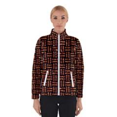 Woven1 Black Marble & Copper Foil Winterwear