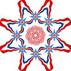 Assyrian Flag  Folding Umbrellas