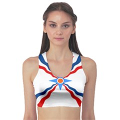 Assyrian Flag  Sports Bra