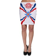 Assyrian Flag  Bodycon Skirt