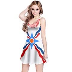 Assyrian Flag  Reversible Sleeveless Dress