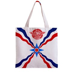 Assyrian Flag  Grocery Tote Bag