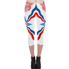 Assyrian Flag  Capri Leggings