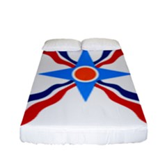 Assyrian Flag  Fitted Sheet (full/ Double Size)