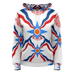 Assyrian Flag  Women s Pullover Hoodie