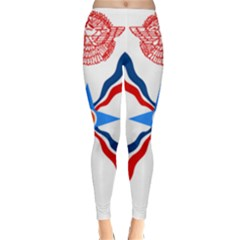 Assyrian Flag  Classic Winter Leggings