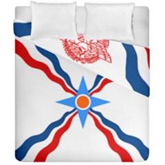 Assyrian Flag  Duvet Cover Double Side (california King Size)