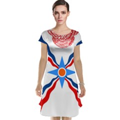 Assyrian Flag  Cap Sleeve Nightdress