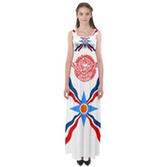 Assyrian Flag  Empire Waist Maxi Dress