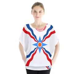 Assyrian Flag  Blouse