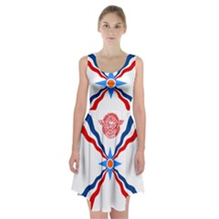 Assyrian Flag  Racerback Midi Dress