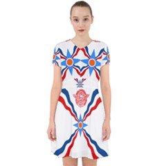 Assyrian Flag  Adorable In Chiffon Dress