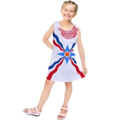 Assyrian Flag  Kids  Tunic Dress
