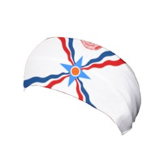 Assyrian Flag  Yoga Headband