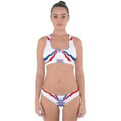 Assyrian Flag  Cross Back Hipster Bikini Set