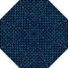 Scales3 Black Marble & Deep Blue Water Hook Handle Umbrellas (medium)