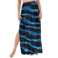 Skin2 Black Marble & Deep Blue Water Maxi Chiffon Tie Up Sarong