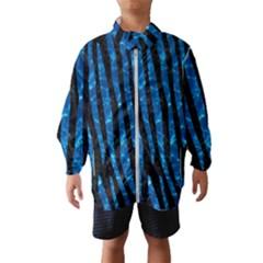 Skin4 Black Marble & Deep Blue Water (r)skin4 Black Marble & Deep Blue Water (r) Wind Breaker (kids)