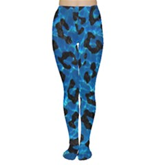 Skin5 Black Marble & Deep Blue Water Women s Tights