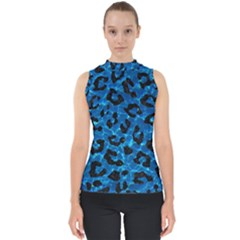 Skin5 Black Marble & Deep Blue Water Shell Top