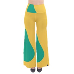 Yellow Green Blue Pants