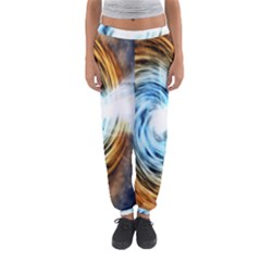 A Blazar Jet In The Middle Galaxy Appear Especially Bright Women s Jogger Sweatpants
