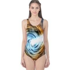 A Blazar Jet In The Middle Galaxy Appear Especially Bright One Piece Swimsuit
