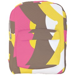 Breast Pink Brown Yellow White Rainbow Full Print Backpack