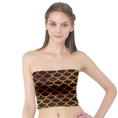 Scales1 Black Marble & Fire Tube Top