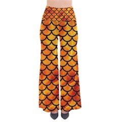 Scales1 Black Marble & Fire (r) Pants