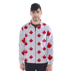 Canadian Maple Leaf Pattern Wind Breaker (men)