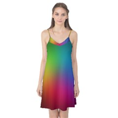 Bright Lines Resolution Image Wallpaper Rainbow Camis Nightgown