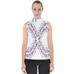 Free Symbol Hands Shell Top